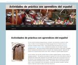 Actividades de práctica con aprendices del español