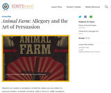 Animal Farm: Allegory and the Art of Persuasion