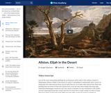 Allston's Elijah in the Desert