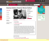 American Authors: American Women Authors, Spring 2003