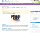 About Accuracy and Approximation