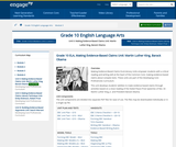 Common Core Curriculum Grade 10 ELA: Making Evidence-Based Claims
