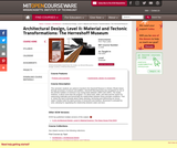 Architectural Design, Level II: Material and Tectonic Transformations: The Herreshoff Museum, Fall 2003