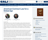 American Contract Law for a Global Age
