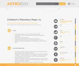 Children's Planetary Maps: Io