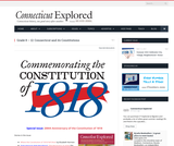 Connecticut and its Constitutions