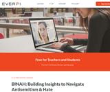 BINAH: Building Insights to Navigate Antisemitism & Hate