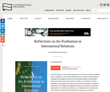 Reflections on the Posthuman in International Relations