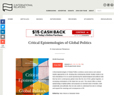 Critical Epistemologies of Global Politics