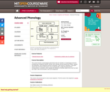 Advanced Phonology, Spring 2005